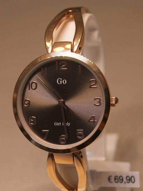 Girl Only Quartz Rosé Bracelet Grijs 695149