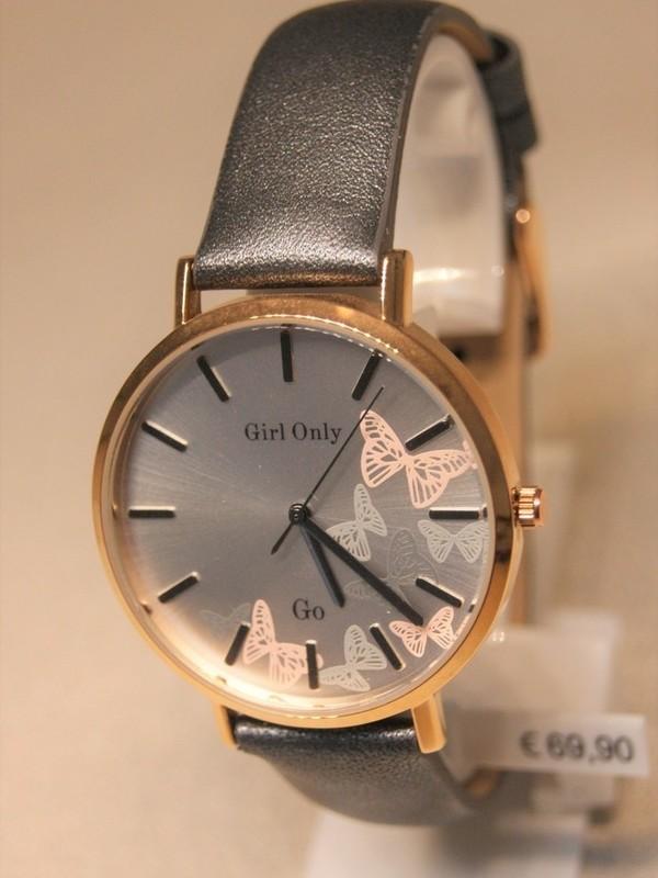 Girl Only Quartz Rosé Grijs Leder Rosé 699096