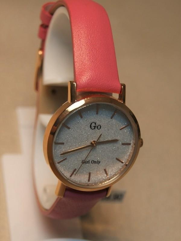 Girl Only Quartz Rosé Roze Leder Wit 699905