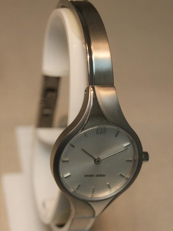 Danish Design Quartz Titanium Bracelet Wit IV62Q1256