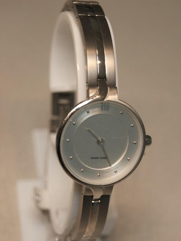 Danish Design Quartz Titanium Bracelet Zilver IV62Q1263