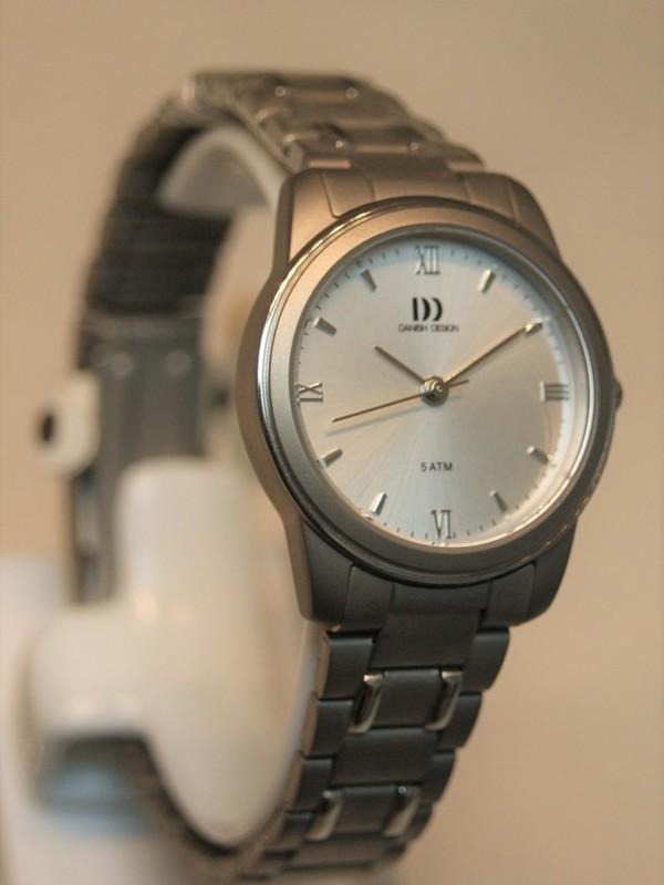 Danish Design Quartz Titanium Bracelet Zilver IV62Q559