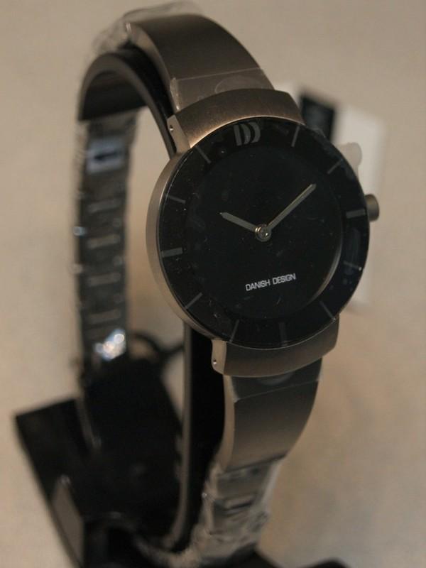 Danish Design Quartz Titanium Bracelet Zwart IV63Q1053