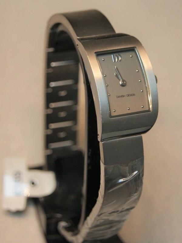 Danish Design Quartz Titanium Bracelet Grijs IV64Q825
