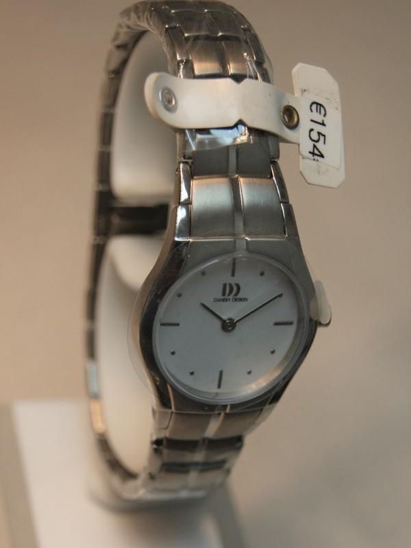 Danish Design Quartz Titanium Bracelet Wit IV62Q1015